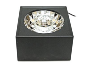 "Creative Motion - 5"" Square Rotating Multi-Color LED Mirror Ball Light (10848)"