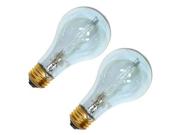 GE 62607 - 29A/CL/RVL/H-2PK A Line Halogen Light Bulb