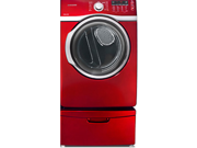 "Samsung DV393GTPARA 27"" Front-Load Electric Dryer with 7.4 cu. ft. Capacity, Tango Red"