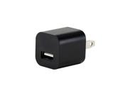 Black Universal AU Plug AC USB Power Home Travel Wall 1A Charger Adapter 1000ma