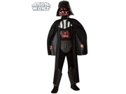 Star Wars Deluxe Child Darth Vader Light-Up Costume Rubies 881355