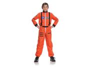Child's Orange Astronaut Costume