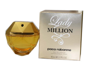 Lady Million by Paco Rabanne for Women - 2.7 oz EDP Spray