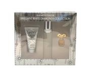 Elizabeth Taylor Brilliant White Diamonds Women Giftset (Eau De Toilette Spray, Luxurious Body Lotion, White Diamond Parfum)