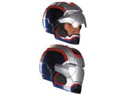 Mens Iron Man Patriot Helmet