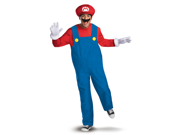 Mens Super Mario Deluxe Halloween Costume