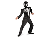 Boys Black Suited Spider-Man Halloween Costume