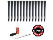Lamkin X10 Oversize (new logo) - 13 pc Grip Kit (with tape, solvent, vise clamp)