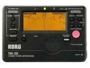 Korg TM-50 Combo Tuner/Metronome Black TM50BK