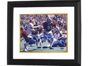Marty Lyons signed Alabama Crimson Tide 8x10 Photo Roll Tide Custom Framed- Steiner Hologram