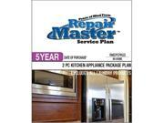 Repair Master RM2PCPKG5 Repair master 5-yr date of purchase - 2-piece kitchen appliance package
