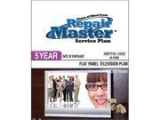 Repair Master RMFPTV5 10000 Repair master 5-yr date of purchase flat panel tv plan - under $10,000