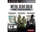 Metal Gear Solid HD PS3