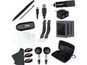 3Ds 20 In 1 Essentials Kit Black