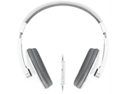 Merkury M-HM706 Merkury m-hm706 urban beatz large headphones with microphone (white & gray)