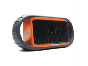 ECOXBT Orange Waterproof Speaker w/ BT