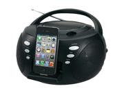 Jensen JISS-120I Jensen jiss-120i iphone(r)/ipod(r) portable docking digital cd music system