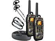 2-Way Submersible/Floating GMRS/FRS RealTree? Radios with Up to 50-Mile Range
