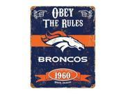 Broncos Vintage Sign