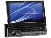 "Planet 7"" Single Din Receiver Touchscreen TFT Monitor SD/USB Aux in Remote"