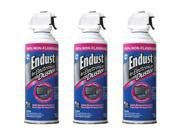 3 Pack 10 Oz Endust 255050 Electronics Duster