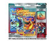 Pokemon Flashfire XY TCG Booster - Three (3) Pack with Mega Lucario Pin