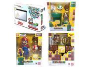 Mario & Luigi Dream Team Nintendo 3DS XL System + Super Mario Figure & Dioramas