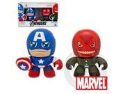 MARVEL THE AVENGERS MINI MUGGS CAPTAIN AMERICA and RED SKULL Figures
