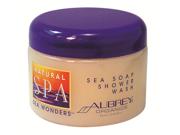 Natural Spa Sea Wonders Sea Soap Shower Wash - Aubrey Organics - 12 oz - Jar