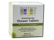 Shower Tablets Purifying Eucalyptus - Aura Cacia - 3 Pack - Tablet