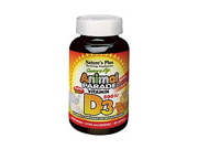 Source of Life Animal Parade Vitamin D3 500 IU-Black Cherry - Nature's Plus - 90 - Chewable