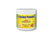 L-Lysine Powder - Nature's Life - 200 g - Powder