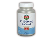 Vitamin C-1000mg Buffered & Timed Release - Kal - 100 - Sustained Release Tablet