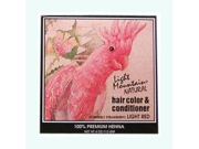 Hair Color & Conditioner- Light Red Light Red - Light Mountain - 4 oz - Powder