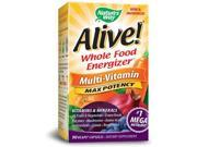 Alive Whole Food Energizer With Iron - Nature's Way - 90 - VegCap