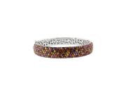 Effy Jewlery Balissima Splash Multi Sapphire Bangle, 13.06 TCW