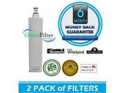 Kenmore 46-9010 Certified Green Refrigerator Water and Ice Maker Filter 2 Pack