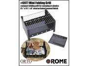Rome Industries Mini Folding Grill