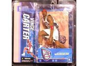 Mcfarlane NBA Series 10 Vince Carter New Jersey Nets White Jersey