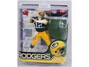 Mcfarlane NFL Series 27 Aaron Rodgers Green Bay Packers Green Jersey
