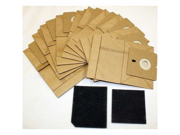 Shark EP709 Replacement XSG709 Bag 10 pack and 2 Filters # EU-14015