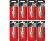 Briggs & Stratton 8 Pack 5092K Spark Plug For OHV Engines Replaces 496018S, RC14YC