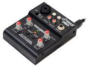 2 Channel Mini Mixer With USB Audio Interface