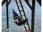 Vivere Parachute Nylon Hammock - Single (Navy/Red)