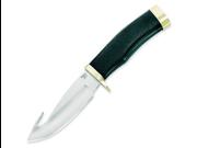 "Buck BU691 Knives Fixed Knife Kraton/Rubber Handle Zipper Guthook Rubber 8 3/4"""