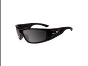 Wileyx Zak Polarized Smoke Grey/Gloss Black Glassess