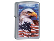 Zippo ZOZO24764 Lighter Mazzi Freedom Watch Eagle World Famous Lighters