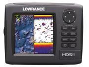 Lowrance HDS-5 Gen2 Nautic Insight 50/200kHz w/ Transducer 000-10519-001