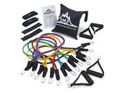 Black Mountain Products Ultimate Resistance Band Set w Guide
