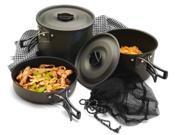 Texsport Cook Set The Trailblazer Camping Cookware Pots Pans